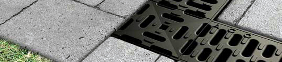 Aco hexadrain residential trench drains drainage product for Residential trench drain systems