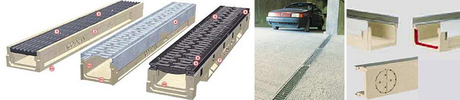 Aco Slabdrain Commercial Trench Drains Drainage Product